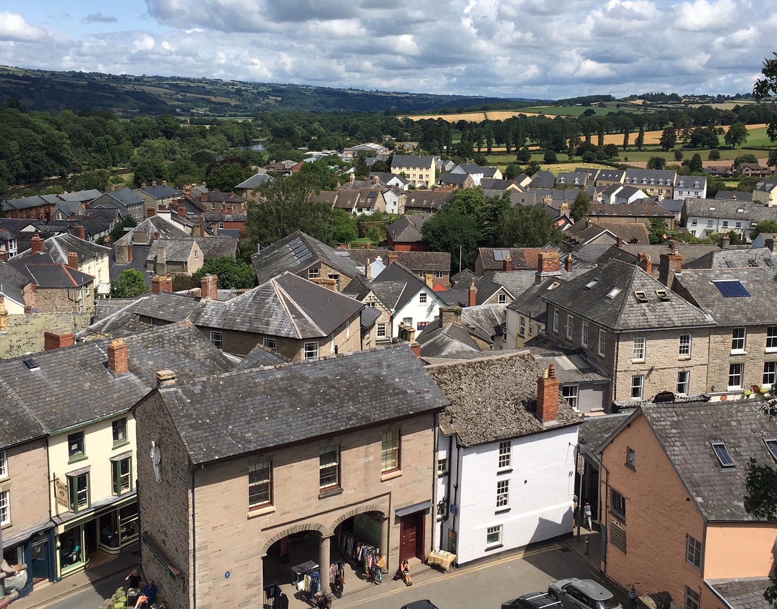 Hay-on-Wye has much to offer visitors to the area.